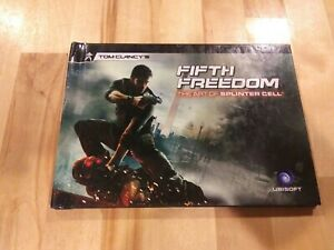 VERY RARE Tom Clancy's Fifth Freedom The Art of Splinter Cell Collectors Special
