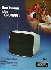 (AM)EPOCA974-PUBBLICITA'/ADVERTISING-1974-GRUNDIG TRIUMPH 1415 UE