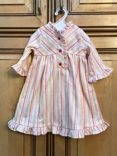 "American Girl Doll Retired 18/"" Kit Striped Nightie Pajamas ONLY"