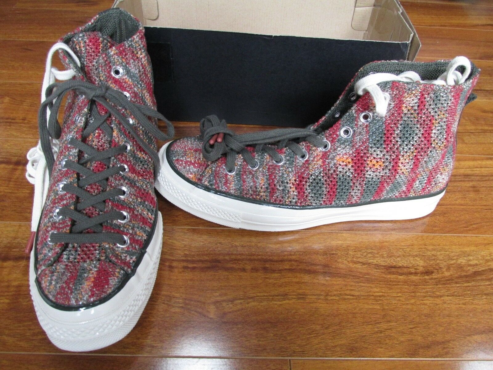 Scarpe casual da uomo NEW Converse Missoni Chuck Taylor All Star 1970 Hi Shoes uomoS 9.5 153105C $200.