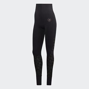 Black adidas AU by Stella McCartney TRUESTRENGTH Yoga Tights