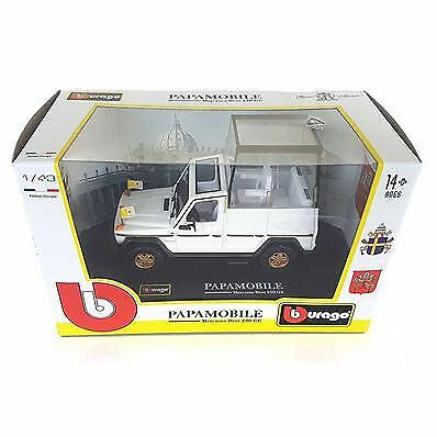 AUTO PAPAMOBILE MERCEDES BENZ 230 GE DIE-CAST SCALA 1:43 BBURAGO 31018 (A1902)