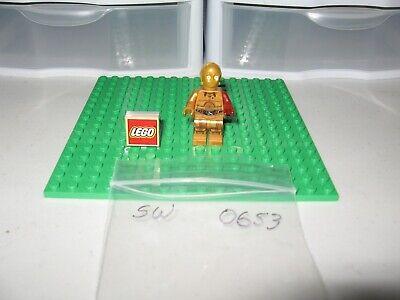 Lego Star Wars C-3PO Dark Red Arm sw0653 From Set 5002948