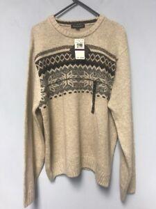 Tricots-St-Raphael-Mens-Crew-Neck-Sweater-Size-XXL-NWT-75