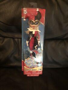 DC SUPER HERO GIRLS Harley Quinn Cartoon Network Action Figure Doll NEW SEALED