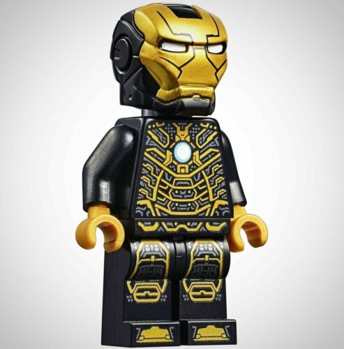 LEGO Marvel Super Heroes Iron Man MK 41 MINIFIG from Lego set #76125 Brand New