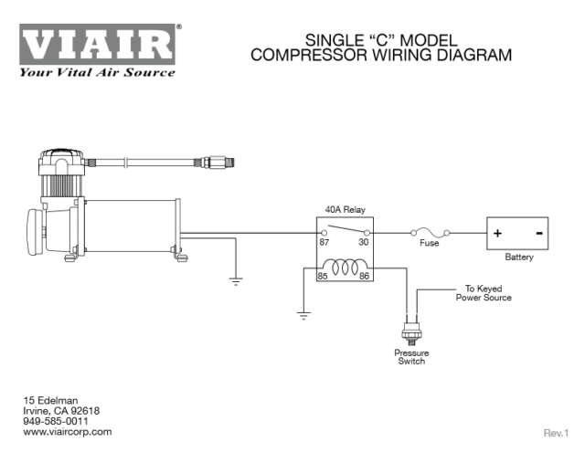 relay wiring diagram viair 20007 just another wiring data latching relay wiring viair 48043 chrome 200 psi 480c air compressor ebay 12 volt relay wiring code relay wiring diagram viair 20007