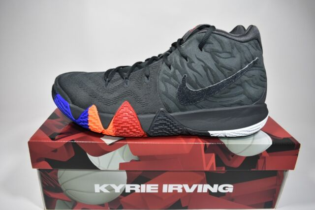 Mens Sz 12 Nike Kyrie 4 Irving Year of The Monkey Anthracite 943806 ... abb8dd801