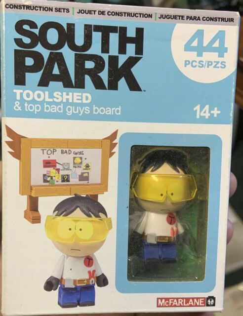 McFarlane South Park Construction Set Toolshed