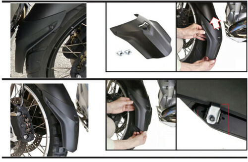 US R1200GSA LC 14 Front Fender Extender Mudguard Cowl Cover For R1200GS LC 13
