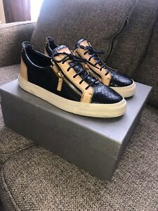 d92a414fe1ea4 Image is loading Giuseppe-Zanotti-Mens-Sneakers-Size-44