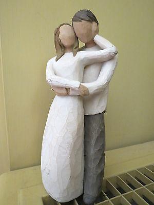 Willow Tree  Together Collectible Figurine 2000 Lordi Demdaco Love Couple Nice