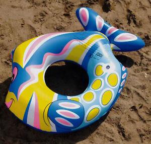 Schwimmring-Schwimmreifen-Form-Fisch-ca-80-cm-Happy-People-NEU