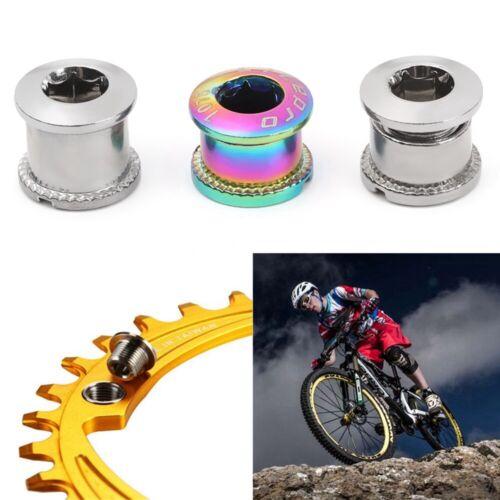 5PC MTB Chainring Bolt Chainwheel Crew Crank Screws Mountain Bike Accessories
