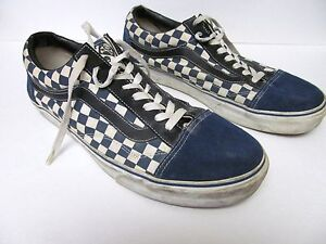 VANS Off the Wall Sneakers Checkerboard Leather Suede Canvas Custom ... 72ac0899d