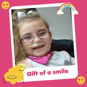 Helen and Douglas House Charity Gift that Gives Twice GIFT OF A SMILE £5