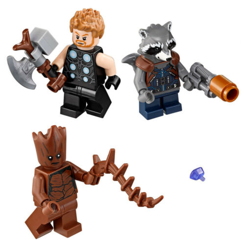 Lego Minifigures /& Power Stone from Thor/'s Weapon Quest 76102 with accessories