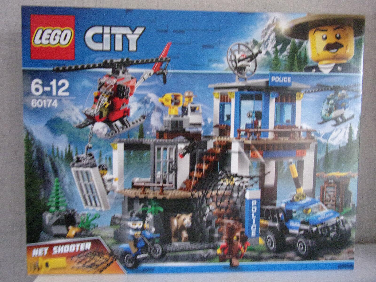 Lego City 60174 Sede Centrale Der Bergpolizei - Nuovo e in Confezione Originale
