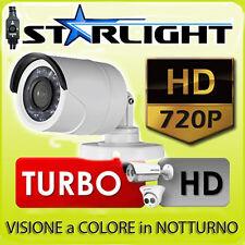 Novità TELECAMERA VISIONE COLORE NOTTURNO HD-CVI/TVI 3.0 MPX STARLIGHT