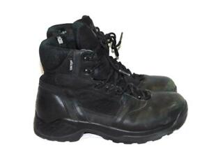 Danner-9-5-Mens-Black-Kinetic-Side-Zip-Boots-Gore-Tex-Lightweight-Leather-43-5