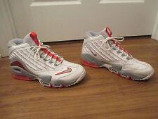 Used Worn Size 12 Nike Air Griffey Max II Shoes White Gray Orange