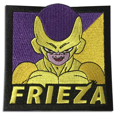 Dragonball Super Broly SSGSS Golden Frieza Patch new iron sew on