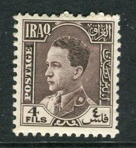 L'irak; 1934 Early King Ghazi Issue Comme Neuf Charnière 4 F. Valeur-afficher Le Titre D'origine