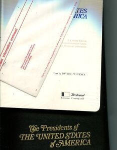 FLEETWOOD PRESIDENT COVER ALBUM WITH SUPPLEMENT AND DUST COVER 6348H