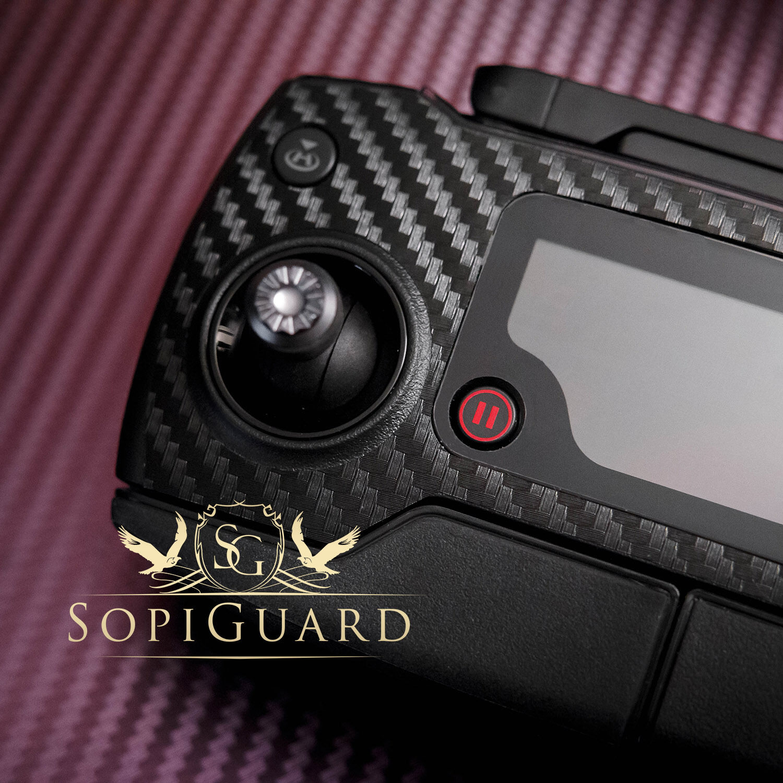 SopiGuard APA APA APA Satin Red Skin Battery Controller for DJI Mavic Pro 229111