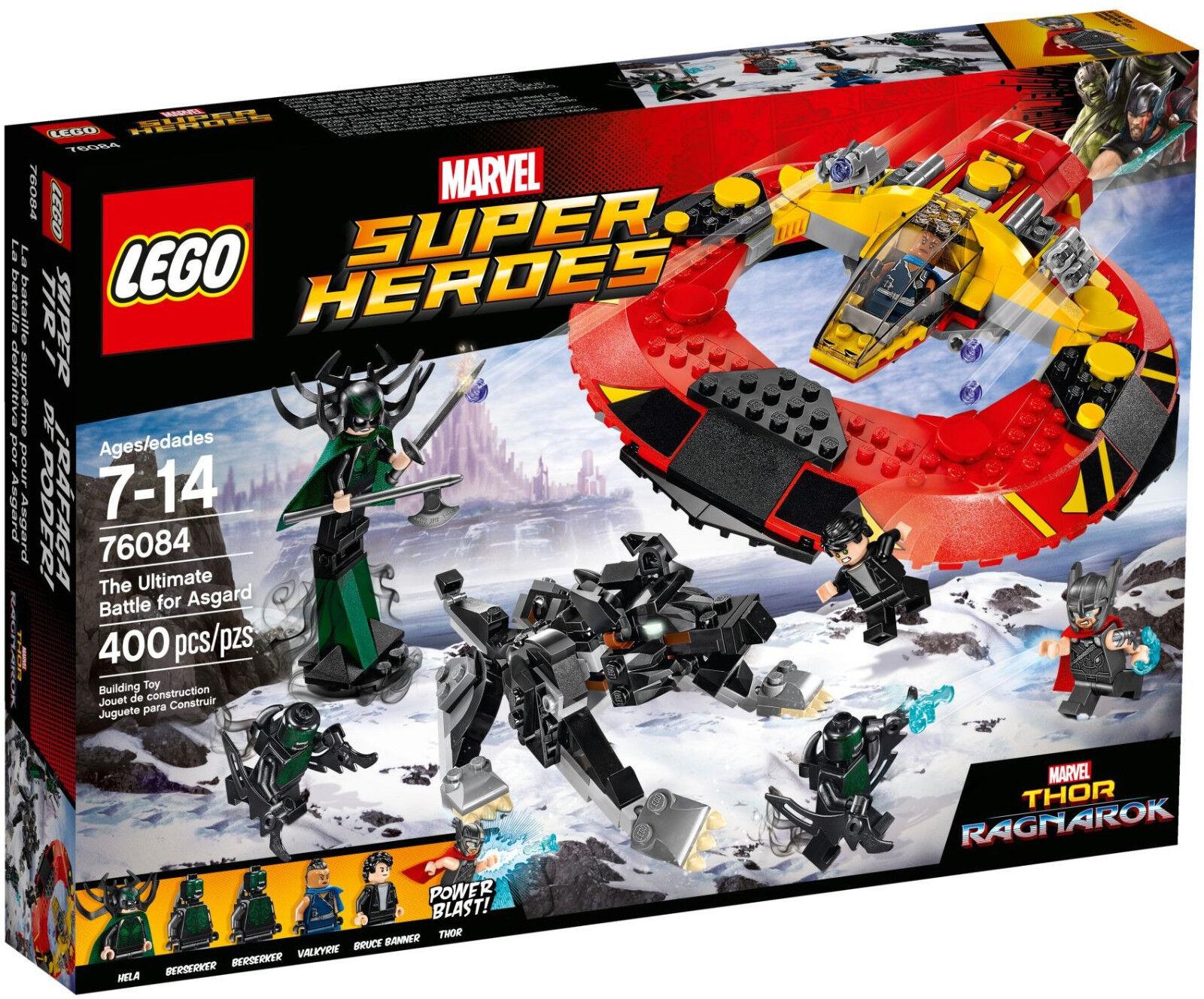 LEGO Marvel Super Heroes - 76084 Das ultimative Kräftemessen um Asgard - Neu OVP