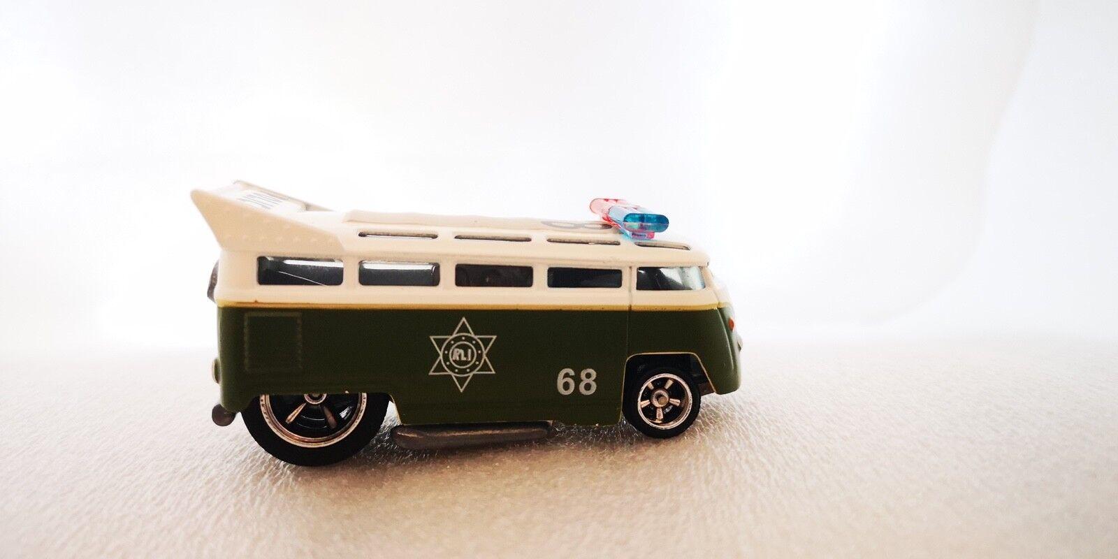 caliente ruedas RLC polizia Drag autobus Prossootipo originale campione di fabbrica raro