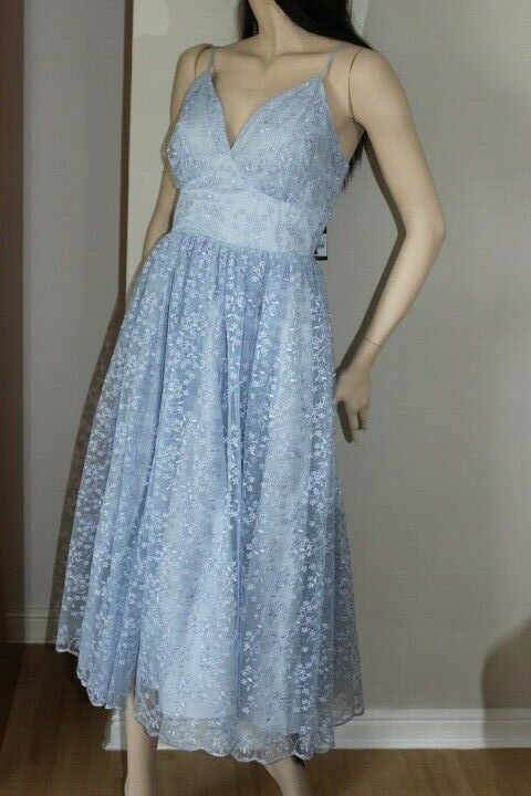 60ea1356 Debut BNWT Debenhams Gown Dress Size 10 UK Prom Occasion Occasion Occasion  RRP POWDER blueE e84802