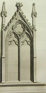 Art Adaptable 1795 Print Gothic Ornament York Minster ~ Compartment Aisles Of The Nave To Win A High Admiration Art Prints