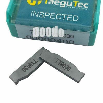 TTER2020-2T17 Lathe Grooving Cut-Off Tool Holder 10* TDC2 TT9030 carbide insert