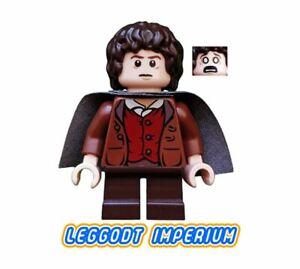 LEGO-Minifigure-Frodo-Baggins-Dark-Cape-Hobbit-Lord-Rings-lor003-FREE-POST