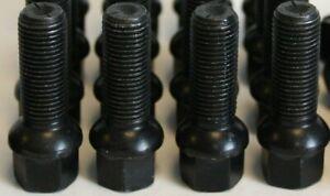 M14-X-1-5-Noir-40MM-Rayon-Roue-Boulons-40mm-X-4-Boulons