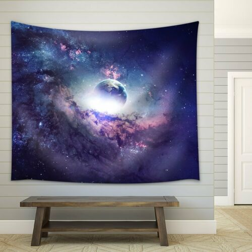 Espace étoilé Tapestry Wall Hanging Tapestry Planet Tapisserie Décoration Hot