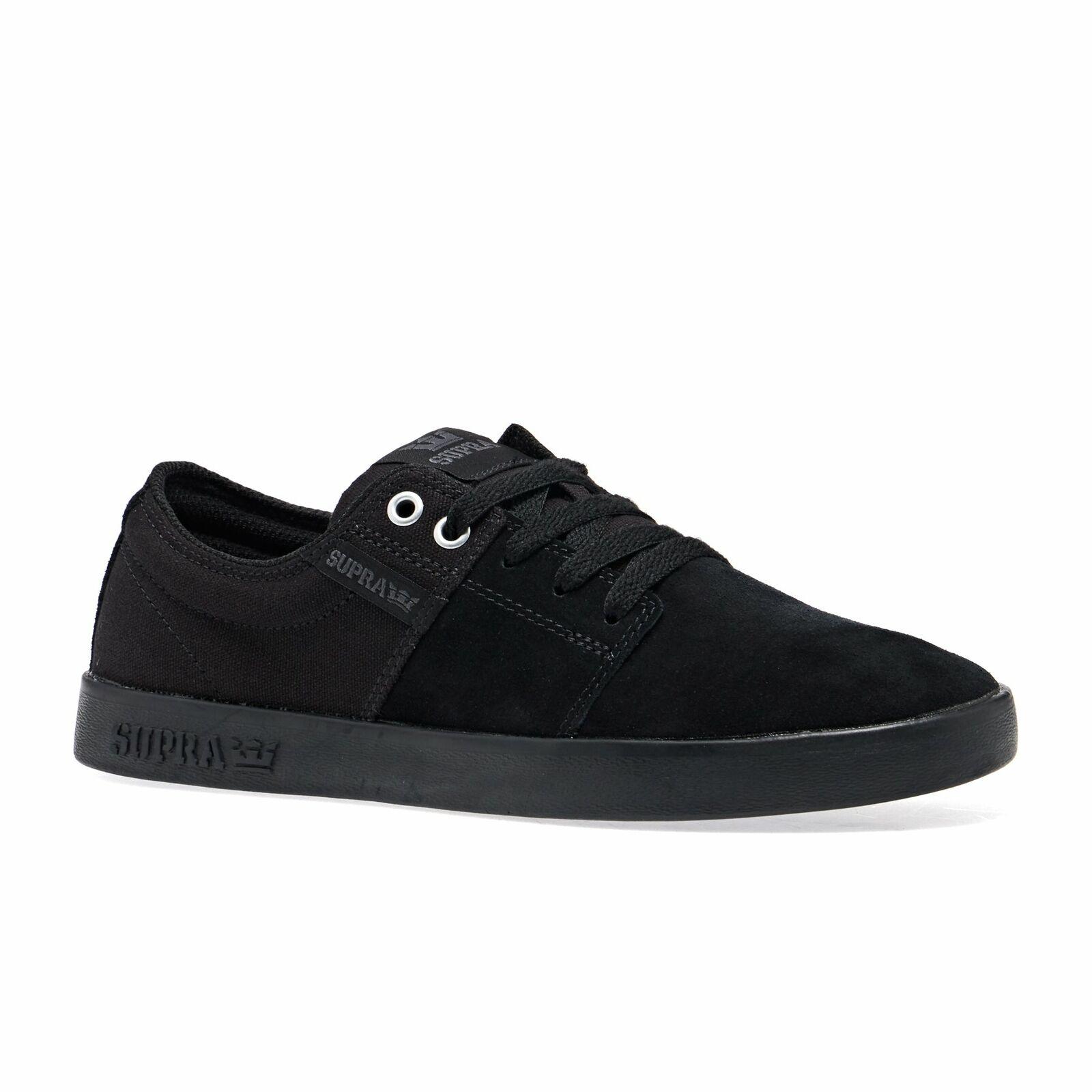 SUPRA Stacks II Footwear Sautope-Nero Tutte le Taglie