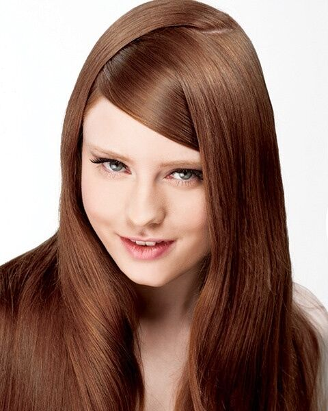 Healthier Permanent Hair Color Onc Natural Colors 4 Oz 6kr Chocolate Brown Red Ebay