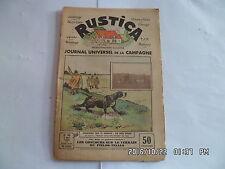 RUSTICA N°19 7/5/1933 CONCOURS SUR LE TERRAIN OU FIELDS TRIALS ACTUALITES    G35