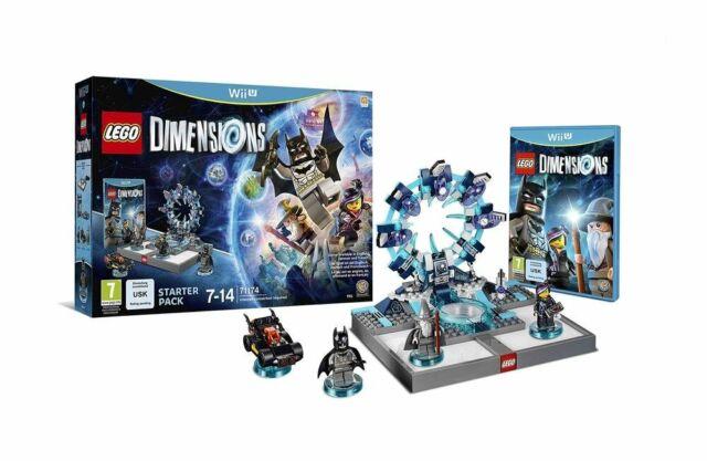 🔵🔵 Lego Dimensions - Starter Pack - pack de démarrage pour Wii U, en VF 🇫🇷