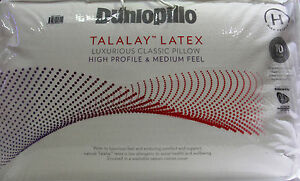 Dunlopillo-Luxurious-Latex-Classic-Pillow-High-Profile-amp-Medium-Feel-RRP-149