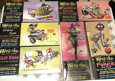 New 2006 Hawk Model Co Weird-Ohs ™ Car-Icky-Tures Customizable Models