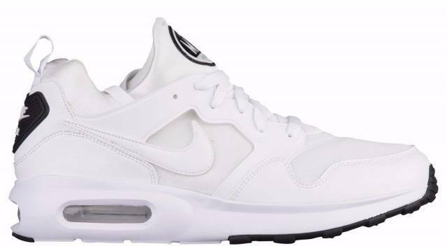 Nike Air Max Prime Mens 876068 100 White Platinum Black Running Shoes Size 9