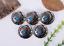10PC-30MM-SOUTHWEST-INDIAN-HEAD-TURQUOISE-SLIVER-SCREW-BACK-LEATHERCRAFT-CONCHOS miniature 5