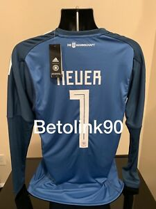 1fe0aee851e Image is loading ADIDAS-Germany-goalkeeper-jersey-NEUER-HOME-World-Cup-