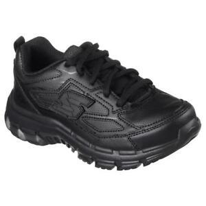 Skechers-Boys-039-Sneaker-Black-SIZE-3-5-M-NIB