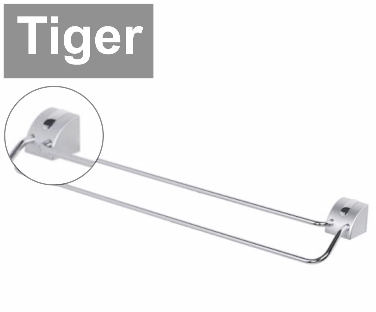 Tiger Lina  Duo Handtuchhalter   Handtuchstange  Rostfrei. Rostfrei. Rostfrei. 616 x 75 x 110 mm     | Erschwinglich  331005
