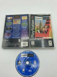 Sony-PlayStation-1-PS1-CIB-Complete-Tested-Theme-Park-Long-Box-Ships-Fast