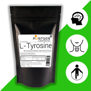 NUTRICS-L-tirosina-675mg-90-Vegano-Capsule-non-Compresse-Polvere-focusmoodfatigue